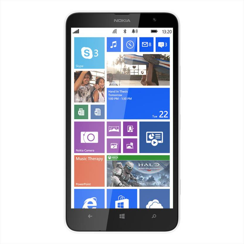 Nokia Lumia 1320 (White, 8 GB)