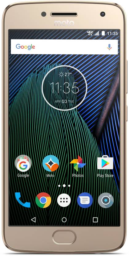 Moto G5 Plus (Gold, 16 GB)