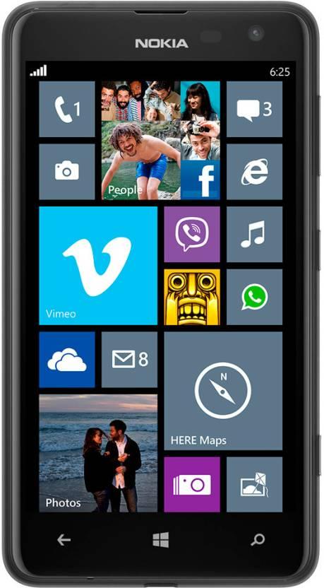Nokia Lumia 625 (Black, 8 GB)