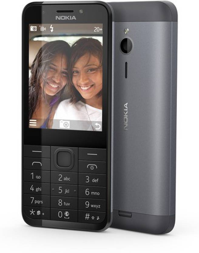 Nokia 230 Dual SIM  (Dark Silver) By Flipkart @ Rs.4,050