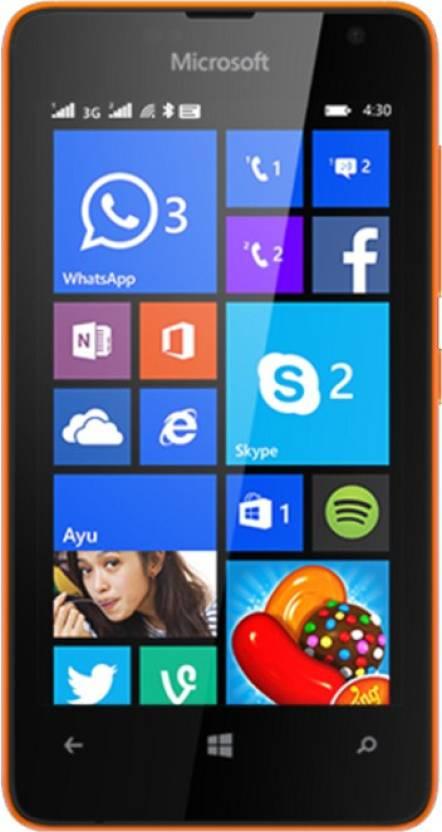 Microsoft Lumia 430 (Bright Orange, 8 GB)