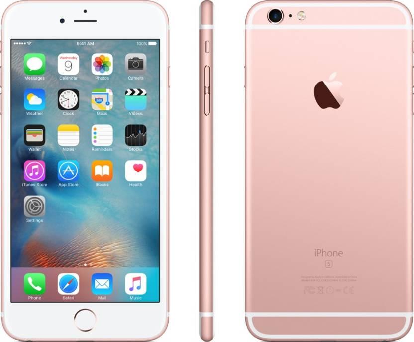 Apple iPhone 6s Plus (Rose Gold, 128 GB)