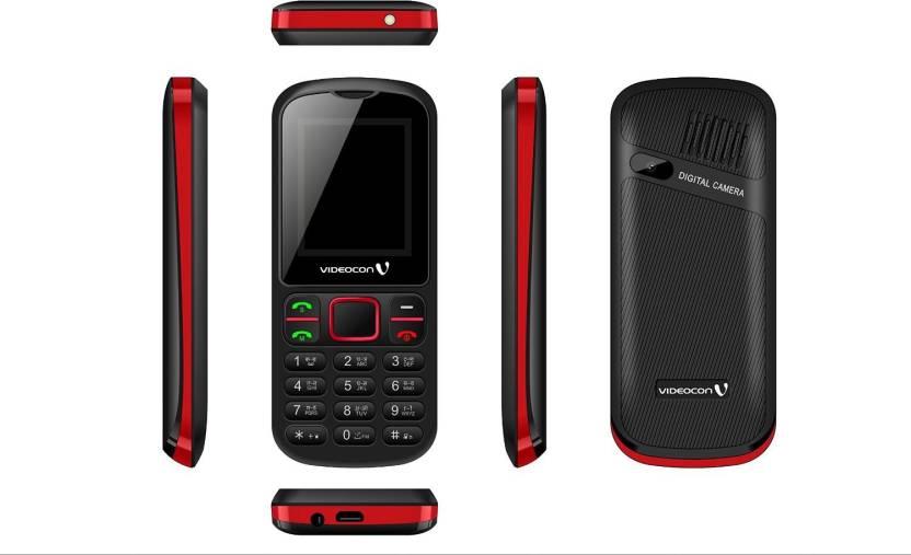 Videocon Cloud V1E7 (Black & Red)