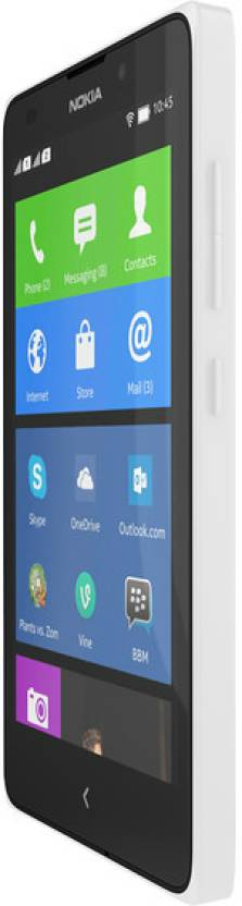 Nokia XL (White, 4 GB)