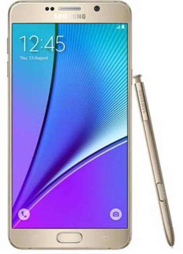 Samsung Galaxy Note 5 (Gold, 32 GB)(4 GB RAM)