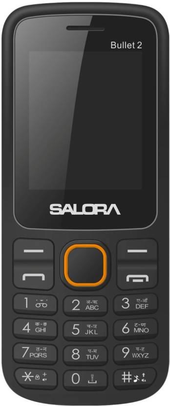 Salora BULLET 2(Black & Orange)