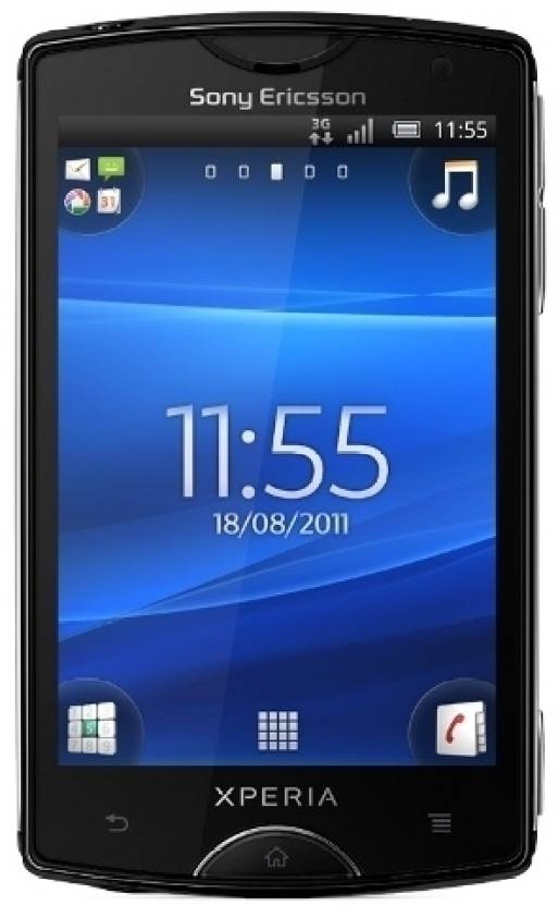 Sony Ericsson Xperia Mini (Black, 320 MB)