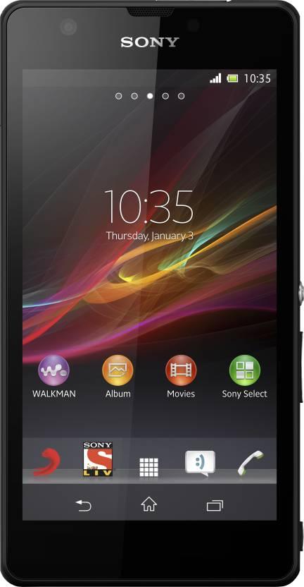 Sony Xperia ZR (Black, 8 GB)