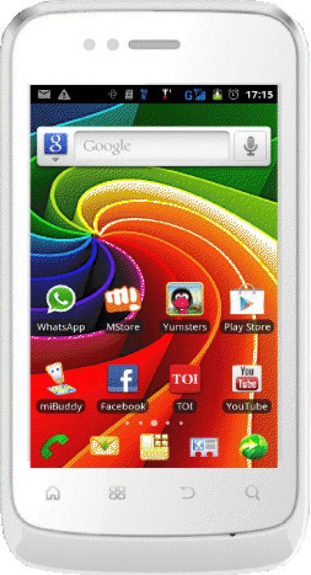 Micromax Superfone Punk A45 (White, 180 MB)