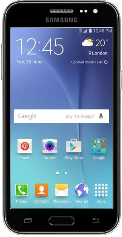 SAMSUNG Galaxy J2 (Black, 8 GB)