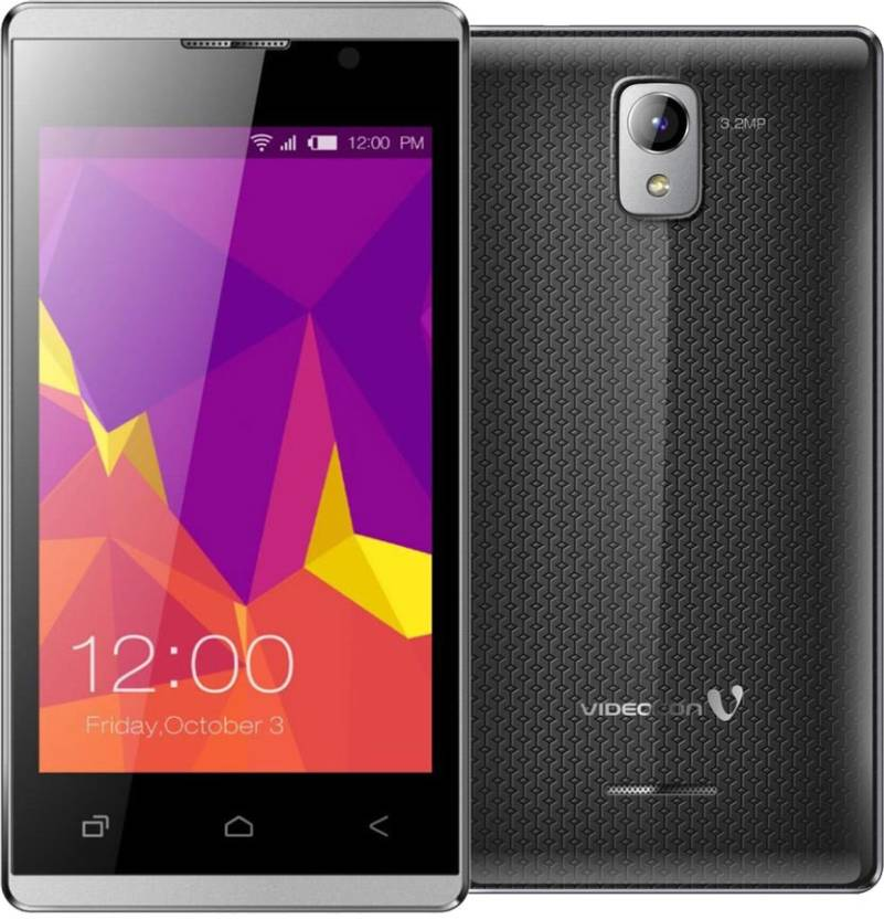 Videocon Z42 Nova Dragontrail (Grey, 4 GB)
