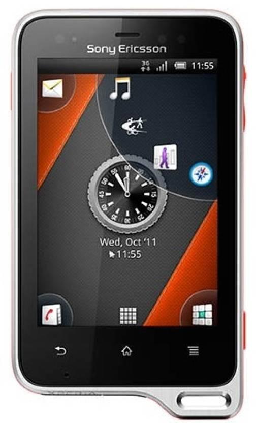 Sony Ericsson Xperia active ST17i (Black and Orange, 1 GB)