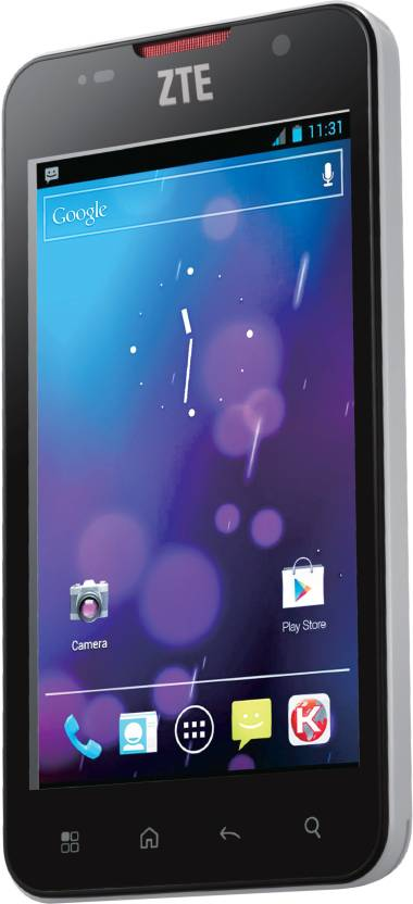 ZTE Blade L V887 (Silver and Black, 4 GB)