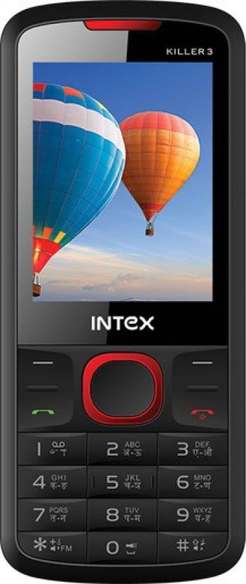 Intex killer3 (Black, Red)