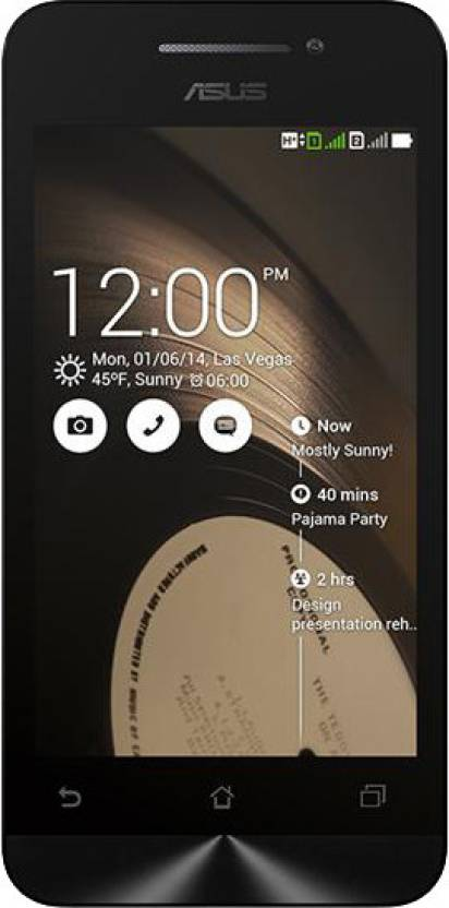 Asus Zenfone 4 (Black, 8 GB)