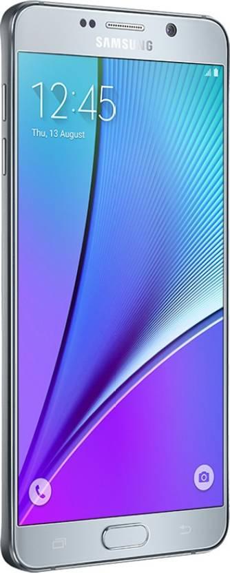 Samsung Galaxy Note 5 32GB Single Sim - Silver (Silver, 32 GB)(4 GB RAM)