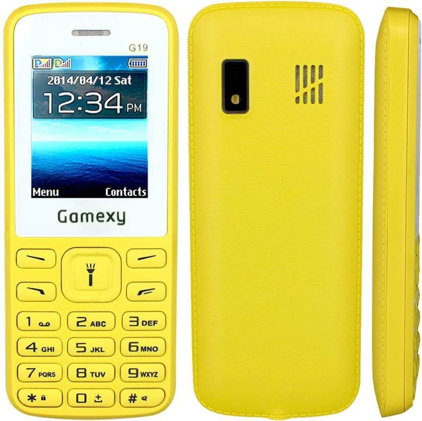 Gamexy G19 (Yellow)
