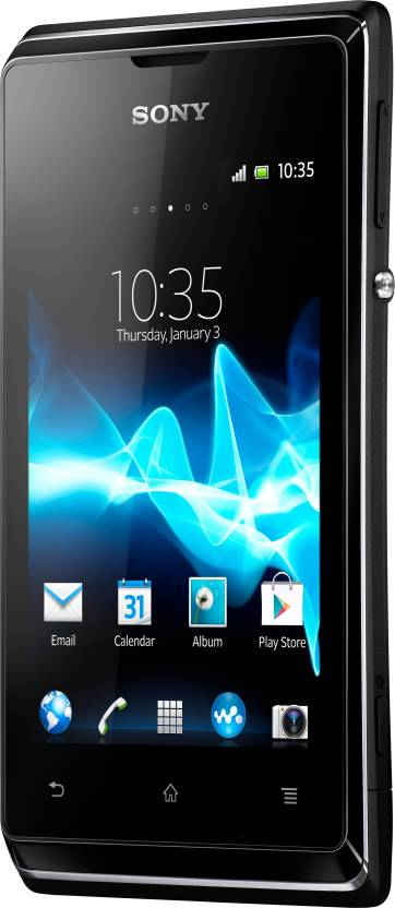 Sony Xperia E (Black, 4 GB)