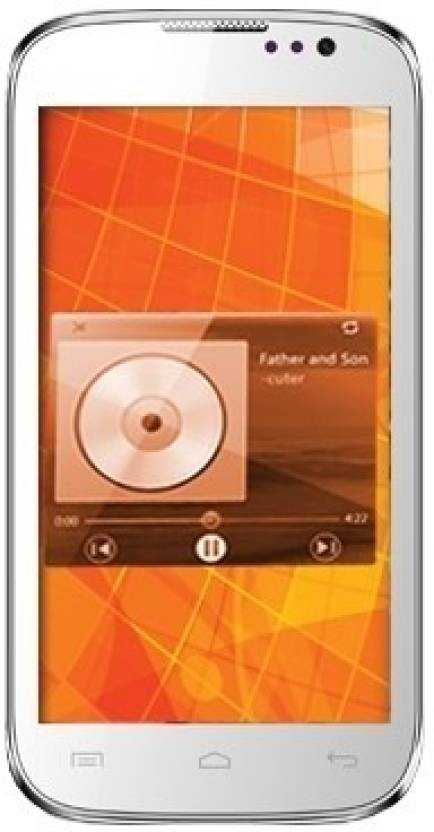 Micromax Canvas Music A88 (White, 4 GB)