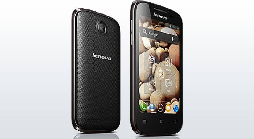 Lenovo A690 (Black, 8 GB)