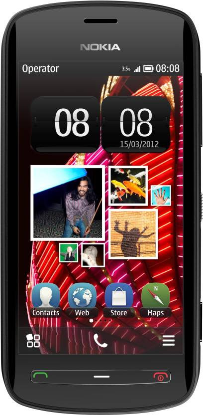 Nokia 808 PureView (Black, 16 GB)