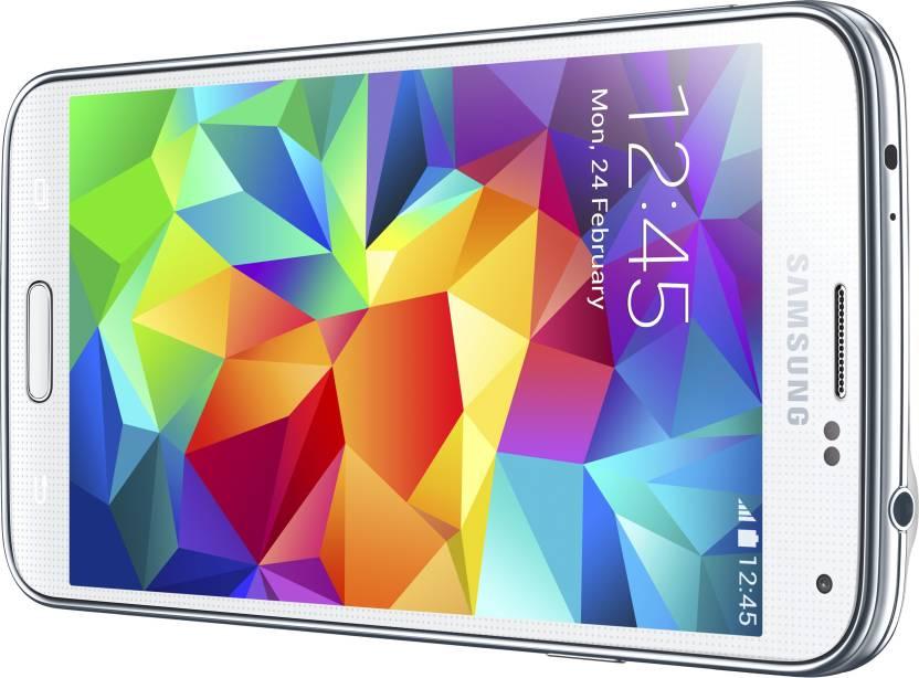 Samsung Galaxy S5 (Shimmery White, 16 GB)(2 GB RAM)