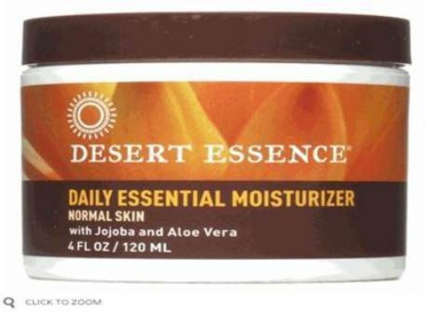 Desert essence facial moisturizer with you