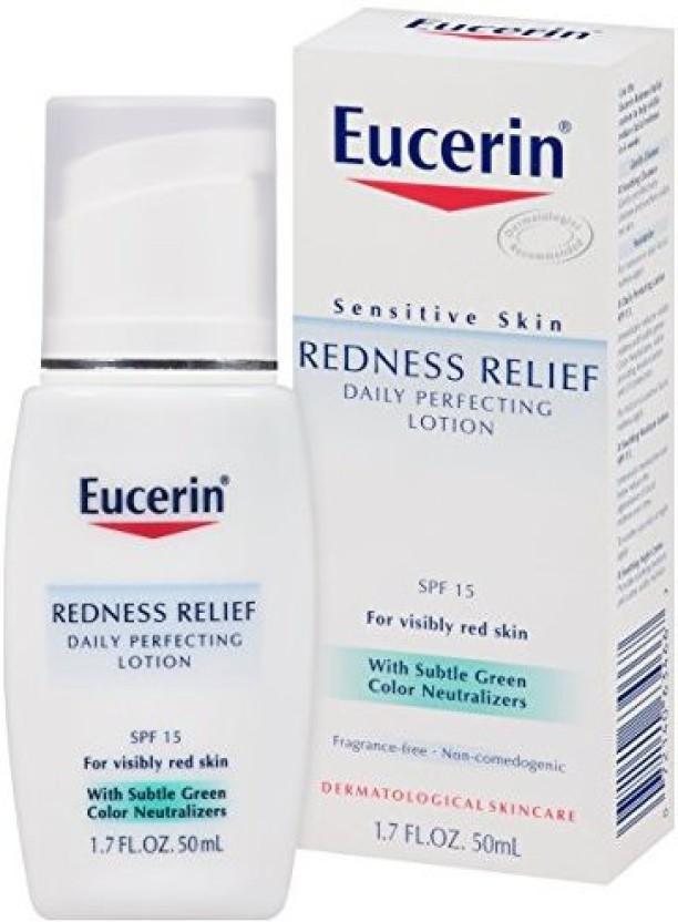 eucerin sensitive skin redness relief