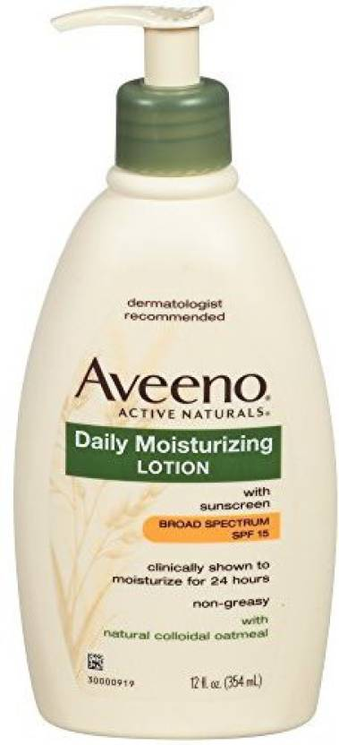 Aveeno Active Naturals Daily Moisturizing Lotion with SPF 15
