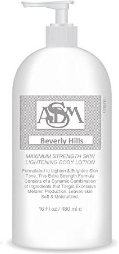 Asdm Beverly Hills Whitening Lotion, Bleaching Lotion