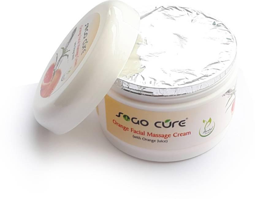 c818368815d Sogo Cure Orange facial Massage Cream - Price in India, Buy Sogo ...