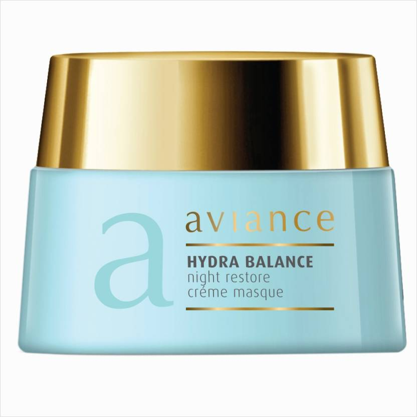 Aviance Hydra Balance Night Restore Creme Masque