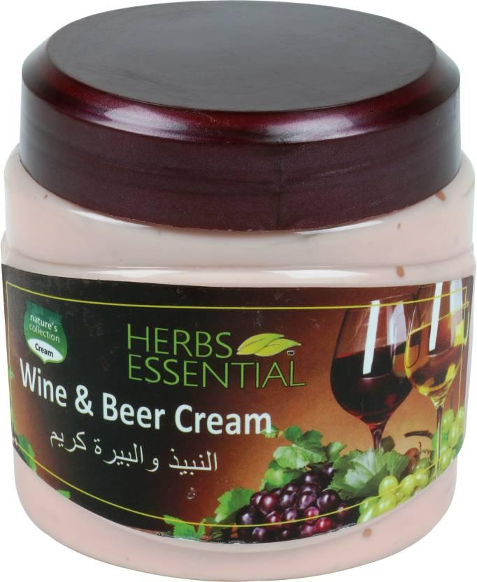 Herbs Essential Wine & Beer Face/Body Cream
