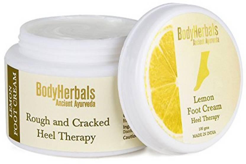 BodyHerbals Lemon Foot Cream, For Rough & Cracked Heel (100g)