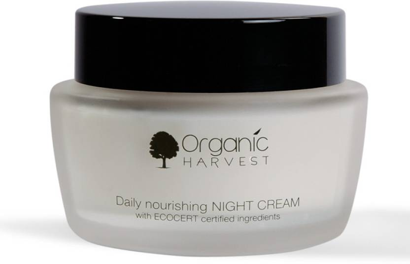 Organic Harvest Daily nourishing Night Cream (with Ecocert certified  ingredients)