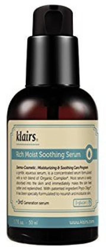 4020b39fde Klairs Rich Moist Soothing Serum , Korean Cosmetics, Sensitive Skin,  Wishtrend