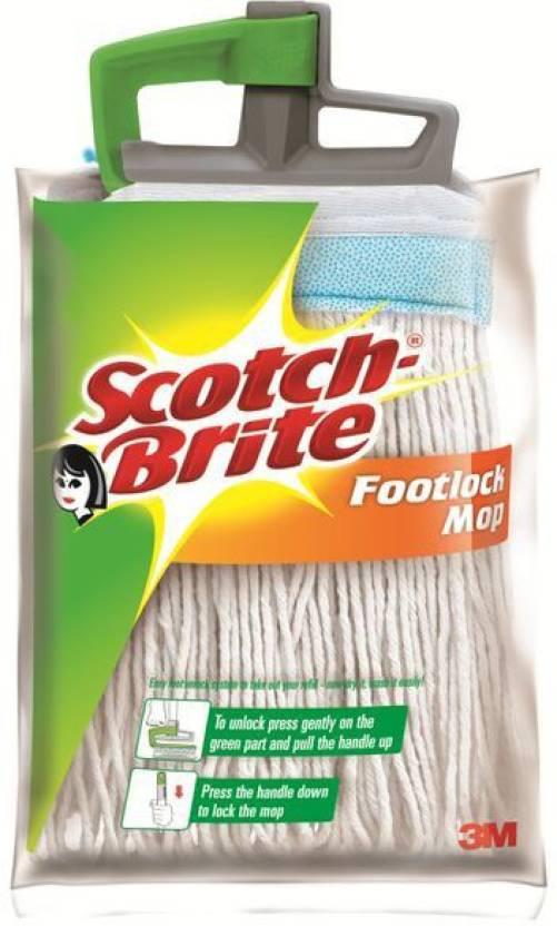 Scotch Brite Footlock Mop Refill Wet & Dry Mop Price in