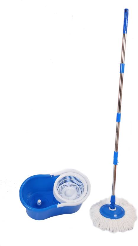 Premsons Spin Mop And Bucket Magic With 2 Microfiber Refills Color