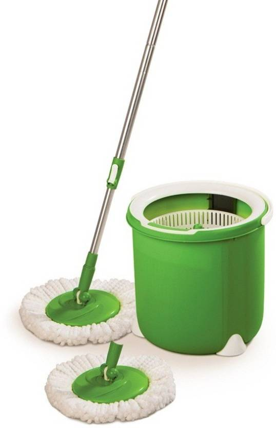 Scotch Brite Jumper Spin Mop With Round Refill Heads Mop