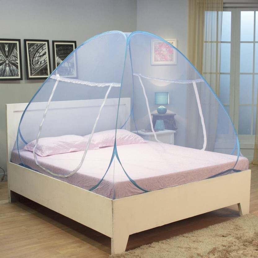Kawachi Polyester Infants Bed Size Folding-K44 Mosquito Net : mosquito tent india - memphite.com