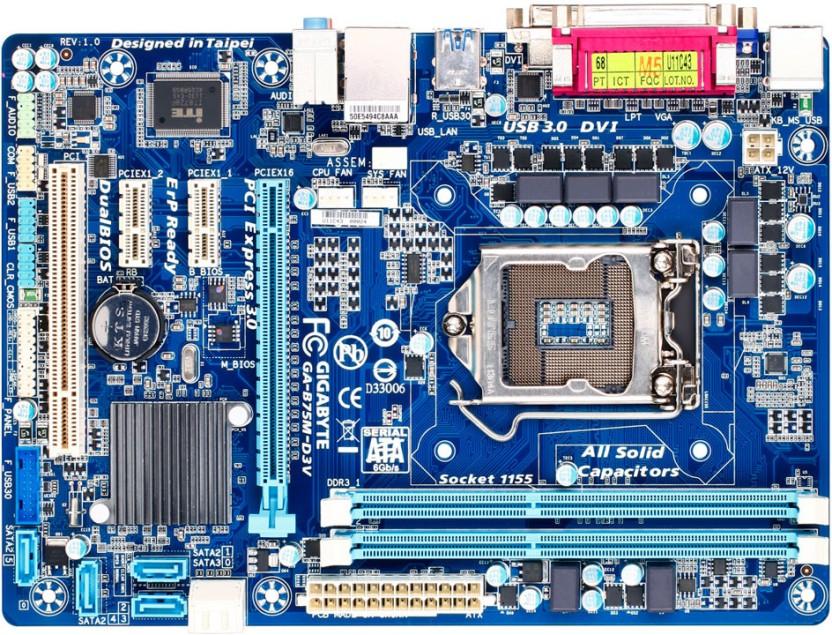 Gigabyte GA-B75-D3V On/Off Charge Windows 8 X64