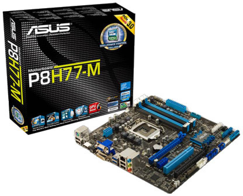 Asus ASUS P8H77-M Motherboard