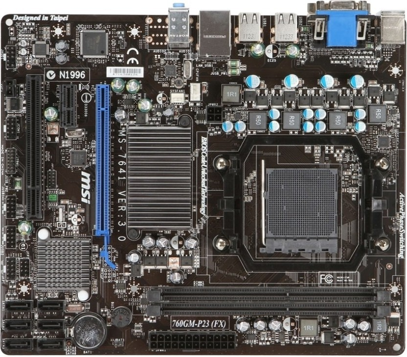 MSI 760GTM-P33 AMD HDMI Audio 64 BIT
