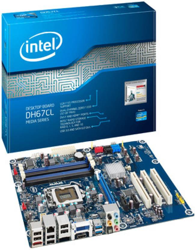 Intel DH67CL with i3-2100 Processor Motherboard