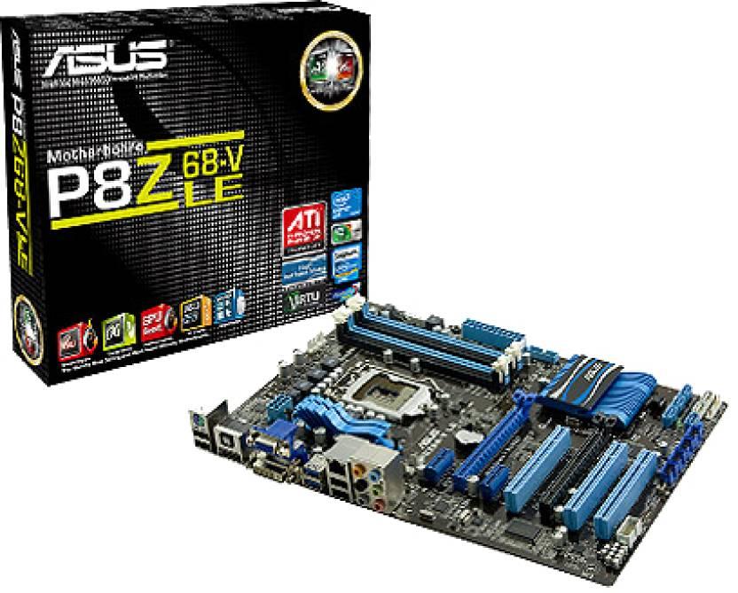 Asus P8Z68-V LE Motherboard