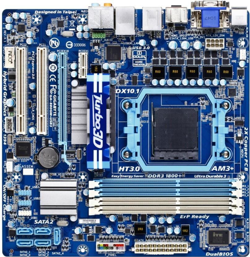 Gigabyte GA-880GM-USB3L Xpress Recovery2 Drivers for Mac