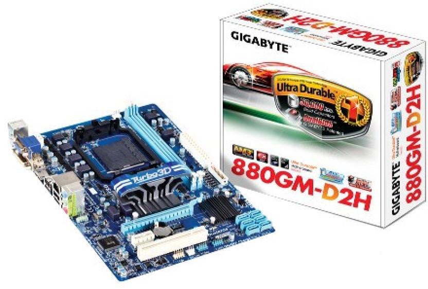 Gigabyte GA-880GM-D2H Microsoft UAA Drivers Windows 7