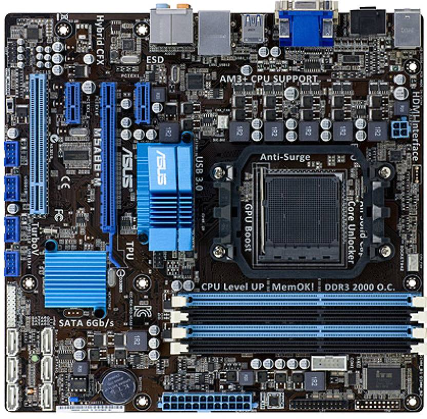 Asus M5A88-M Motherboard