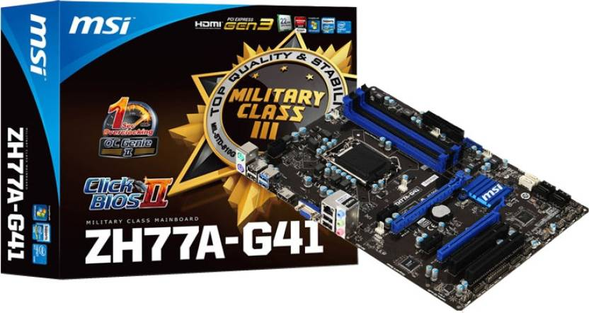 MSI ZH77A-G41 Motherboard
