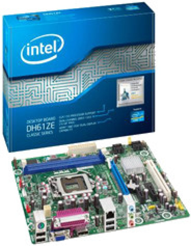 Intel DH61ZE Desktop Board Iflash Windows 7 64-BIT